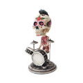 "PT10263 - 6.5"" Day of the Dead Bobblehead Drummer"