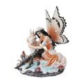 """PT10270 - 7.5"""" Orange Fairy with Unicorn"""