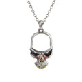 """PT10343 - 1.5"""" Skull Necklace"""