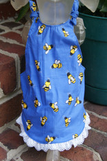 Bumble Bee Dog Spring Sundress
