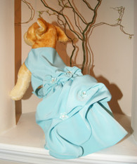 Angel Blue Couture Dog Formal Dress