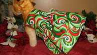 Christmas Swirls Dog Dress