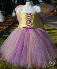 Yellow Butterfly Fairy Tutu Set