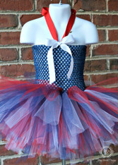 Americana Toddler Tutu, USA Tutu Dress, 4th of July Tutu