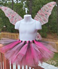 Pink Camo Fairy Tutu