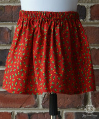 Christmas Tree Toddler Skirt