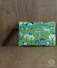 Outdoor Fun Dog Wristlet Wallet, Phone Case