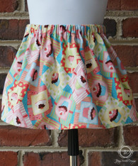 Cupcake Toddler Birthday Skirt