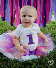 Princess First Birthday Bodysuit