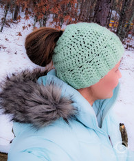 Pony Tail Winter Hat