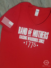 Band of Mothers on Red