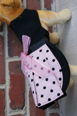 Pink & Black Couture Dog Dress