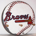Atlanta Braves Cap & Jacket Peg Hanger