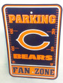 Chicago Bears Parking Zone Sign