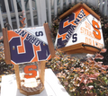 Syracuse University License Plate Roof Bird Feeder (SI Series)