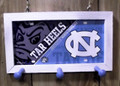 Carolina Tar Heels License Plate Peg Hanger (SI series)