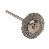 Dental Lab Polishers: Silver Wire Polishing Brushes from Renfert.
