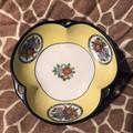 Vintage Noritake Porcelain Morimura Green Wreath  Clover Candy Bowl  - 1920's