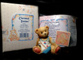 "MIB Enesco Cherished Teddies AUTHUR, ""Smooth Sailing"", August with Paperwork"