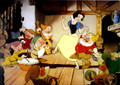 Walt Disney Snow White Seven Dwarfs Exclusive Commemorative Lithograph - 1994