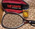 DP Leach Fit For Life Graphite 250 Racquet with Cover plus Ektelon Racquetballs