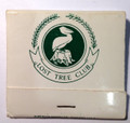 Vintage Lost Tree Club of North Palm Beach, FL Frontstrike Matchbook Unstruck -