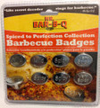 Mr. Bar-B-Q Spiced To Perfection Collection BBQ Badges 8 Pieces