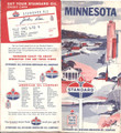 Vintage Standard Oil Gas Station Road Map Of Minnesota - 1960's