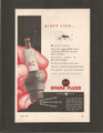 Vintage AC Spark Plugs Two Color Magazine Ad - 1949