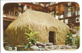 "Vintage Grass ""House"", Hawaiian Hall by Max Basker & Sons - 1960's"