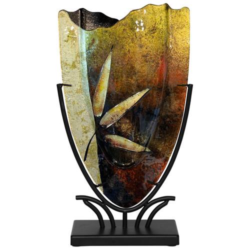 Small v shaped vase