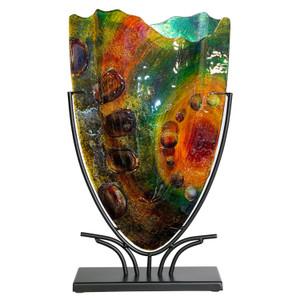 Mid size V shaped vase