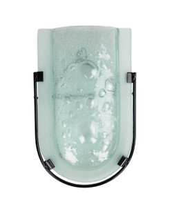 Fused Glass Wall Mount Vase 80317