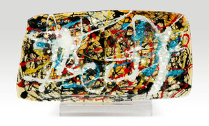 """9.5"""" x 15.5"""" Sculpture Abstract with Acrylic Stand (71124)"""
