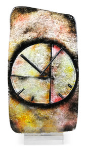 """9"""" x 17"""" Sculpture Still Clock with Acrylic Stand (71127)"""