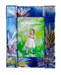 4x6 Fused glass Picture frame (72001)