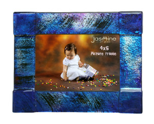 4x6 Fused glass Picture frame (72002)