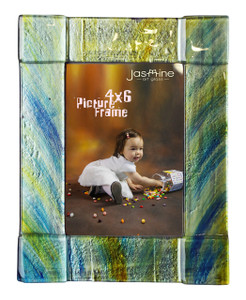 4x6 Fused glass Picture frame (72003) (Coming in December)
