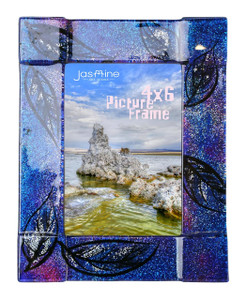 4x6 Fused glass Picture frame (72006) (Coming in December)