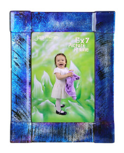 5 x 7 Fused glass Picture frame (72013)