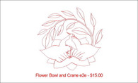 Flower Bowl and Crane e2e
