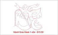Mardi Gras Mask 1 e2e