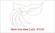 Mardi Gras Mask 2 e2e