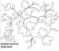 Double Leaf Ivy Wide Brdr