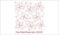 Four Petal Flower e2e