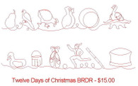 Twelve Days of Christmas BRDR