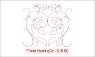 Floral Heart e2e