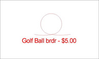 Golf Ball brdr
