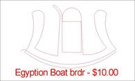Egyption boat brdr