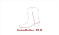 Cowboy Boot brdr